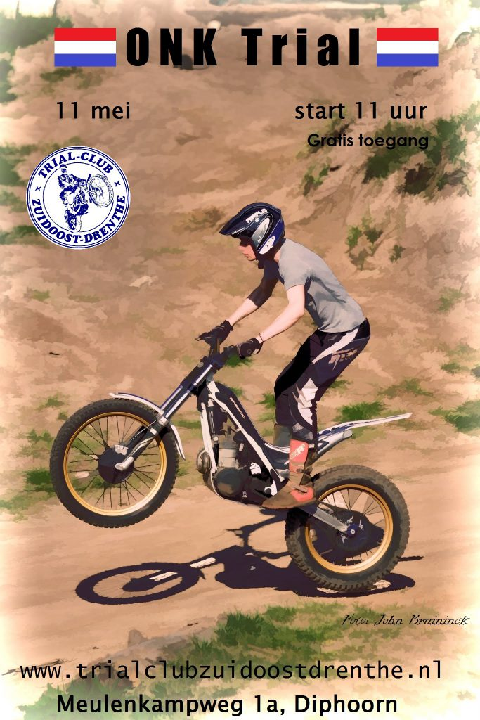 Poster ONK motortrial 2014